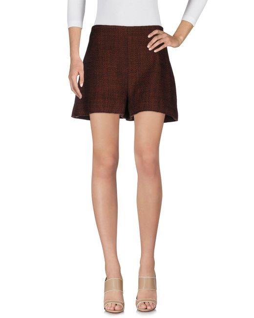Marni - Brown Shorts - Lyst