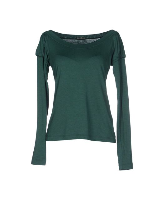 Blu Byblos - Green T-shirt - Lyst