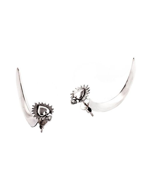 PAOLA GRANDE | Metallic Earrings | Lyst