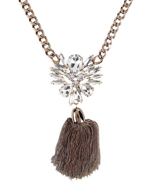 Stefanel | Metallic Necklace | Lyst