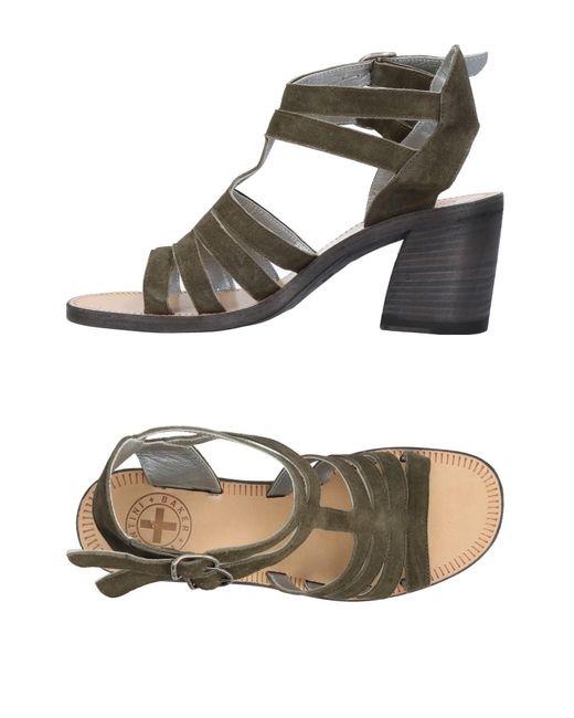Fiorentini + Baker - Green Sandals - Lyst