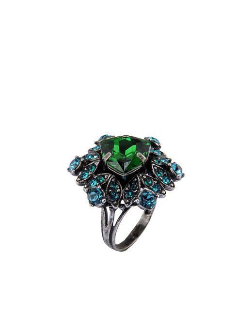 Lanvin - Green Rings - Lyst