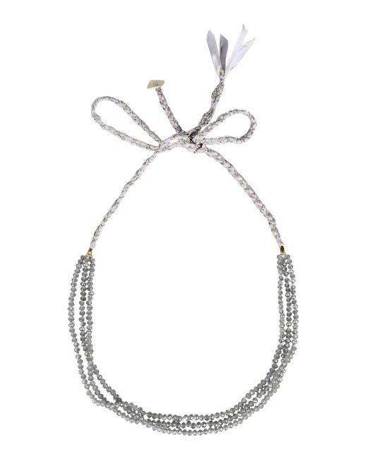 Nakamol - Gray Necklace - Lyst