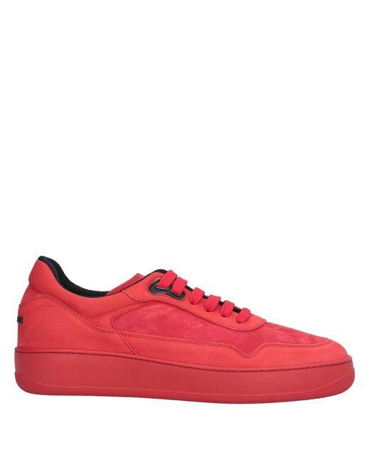 Hogan Rebel Red Low-tops & Sneakers for men