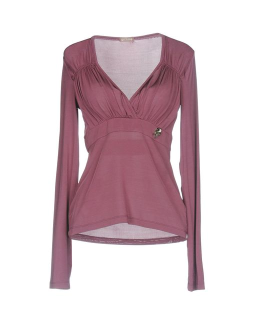 John Galliano - Purple T-shirt - Lyst