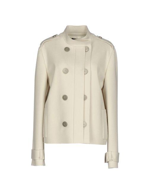 Lanvin | Gray Coat | Lyst