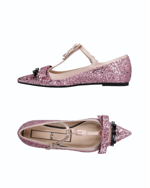 N°21 - Pink Ballet Flats - Lyst