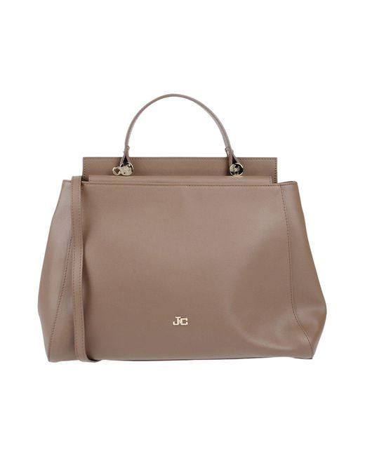 J&c Jackyceline - Brown Handbag - Lyst