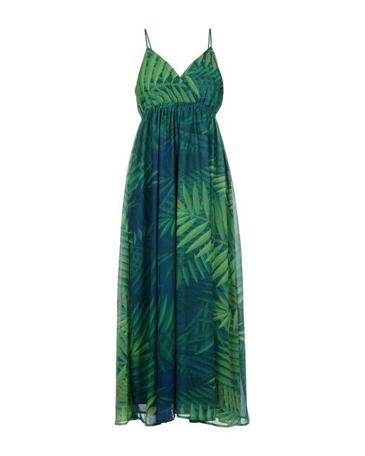 Molly Bracken - Green 3/4 Length Dress - Lyst