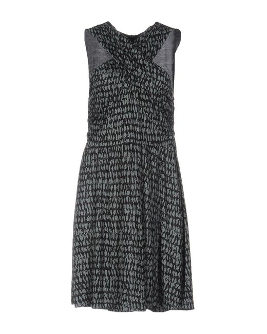 French Connection | Black Short Dress | Lyst