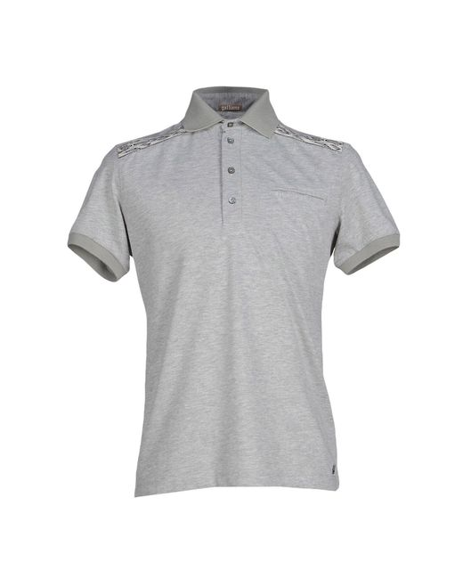 John Galliano | Gray Polo Shirt for Men | Lyst