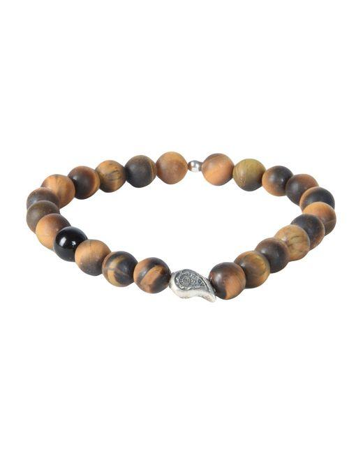 THE JAAR - Brown Bracelet for Men - Lyst