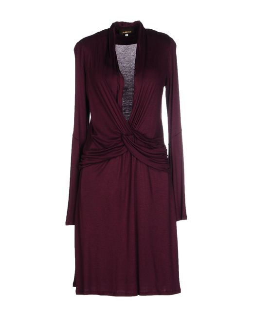 Jo No Fui - Purple Knee-length Dress - Lyst