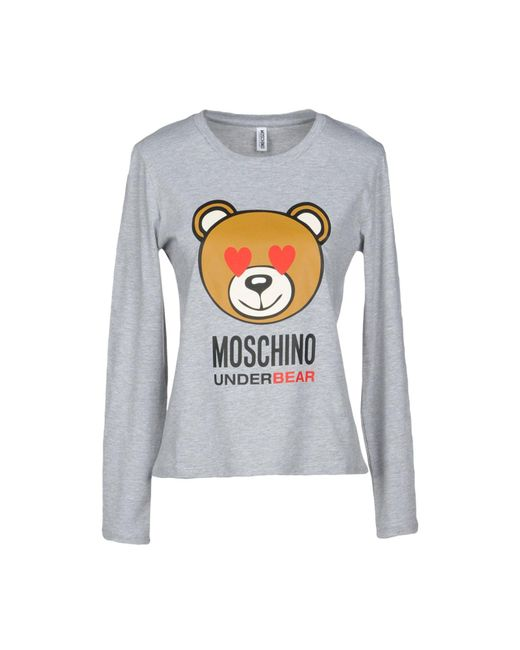 Moschino - Gray Undershirt - Lyst
