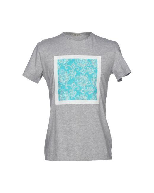 Roda Gray T-shirt for men