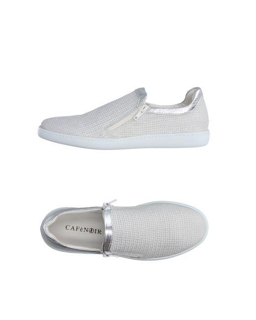 CafeNoir - Gray Low-tops & Sneakers - Lyst