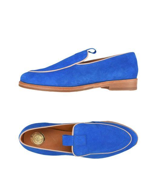 MAISON SHOESHIBAR - Blue Loafer - Lyst