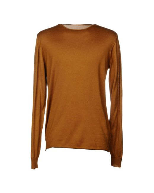 Roberto Collina - Brown Sweaters for Men - Lyst