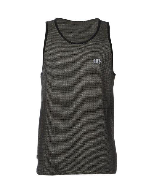 Obey - Black T-shirt for Men - Lyst