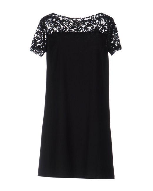 Roberta Scarpa - Black Short Dress - Lyst