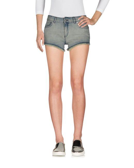 SuperTrash - Blue Denim Shorts - Lyst
