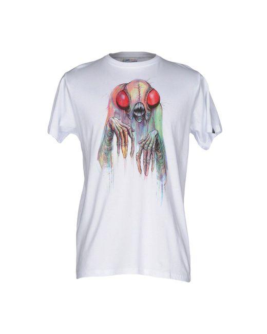 Upper Playground | White T-shirt for Men | Lyst