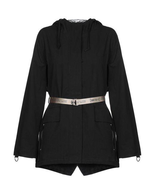 Kilt Heritage - Black Overcoat - Lyst