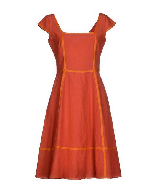 Siyu - Brown Short Dress - Lyst