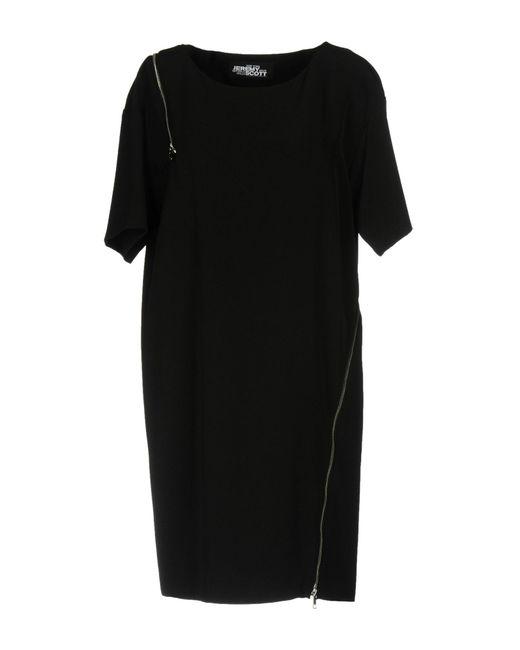 Jeremy Scott - Black Short Dress - Lyst