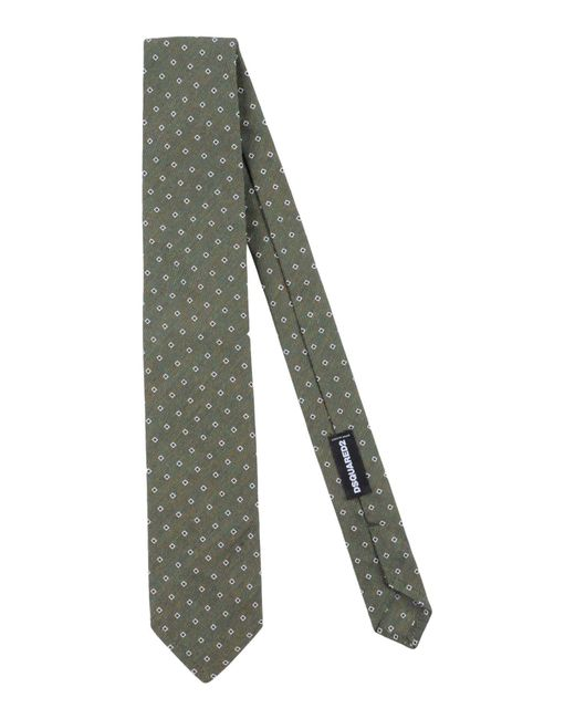 DSquared² - Green Ties for Men - Lyst