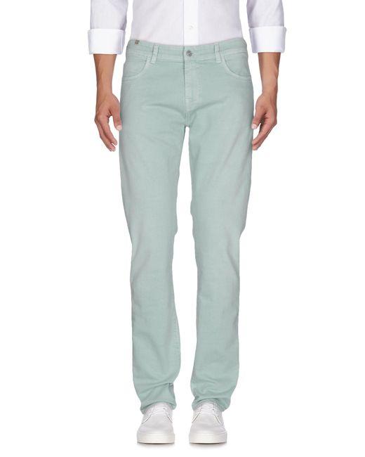 Notify - Green Denim Trousers for Men - Lyst