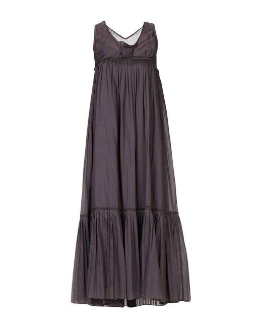 Sportmax - Purple Long Dresses - Lyst