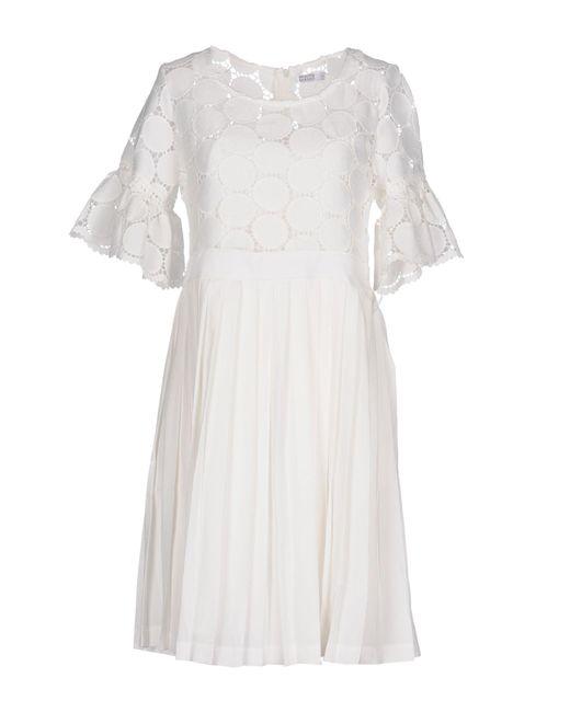 Brigitte Bardot - White Short Dresses - Lyst