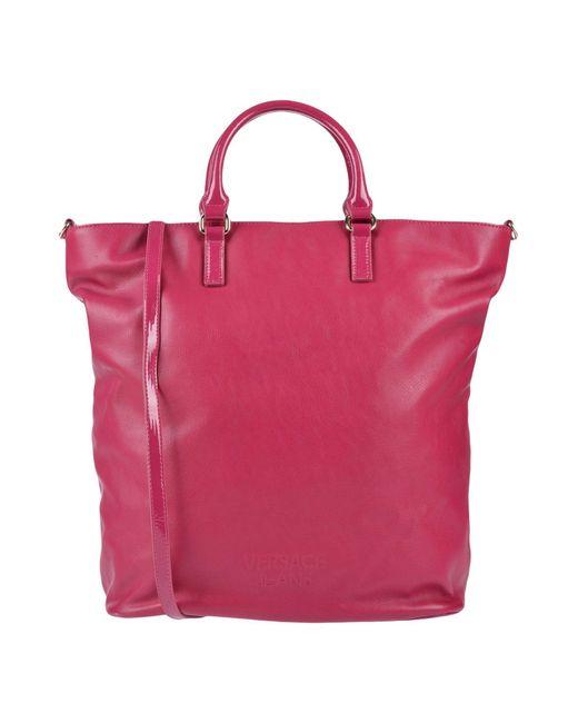 Versace Jeans - Pink Cross-body Bag - Lyst ... b93ea96c9b9e6