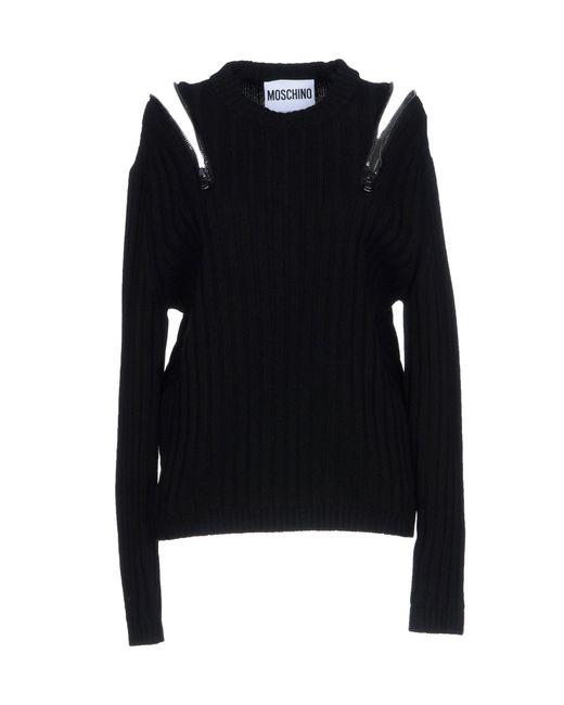 Moschino - Black Sweater - Lyst