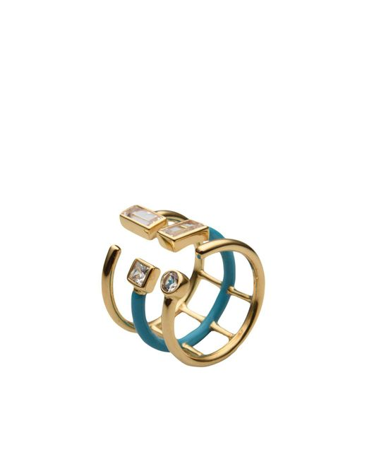 Elizabeth and James | Blue Ring | Lyst