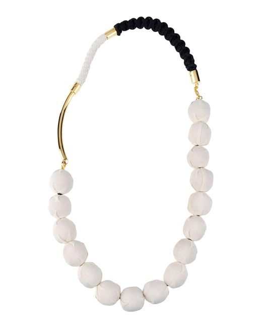 Marni - White Necklaces - Lyst