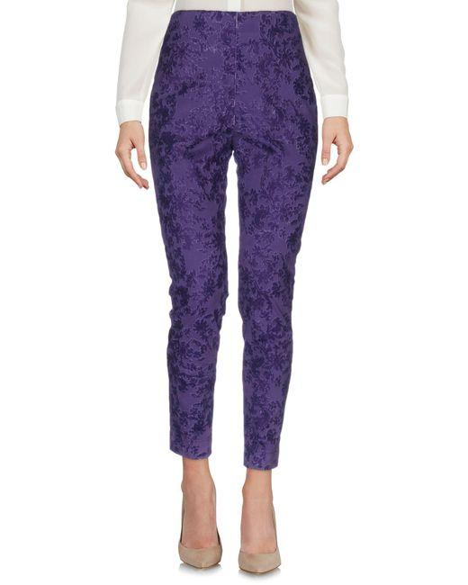 Department 5 - Purple Casual Trouser - Lyst