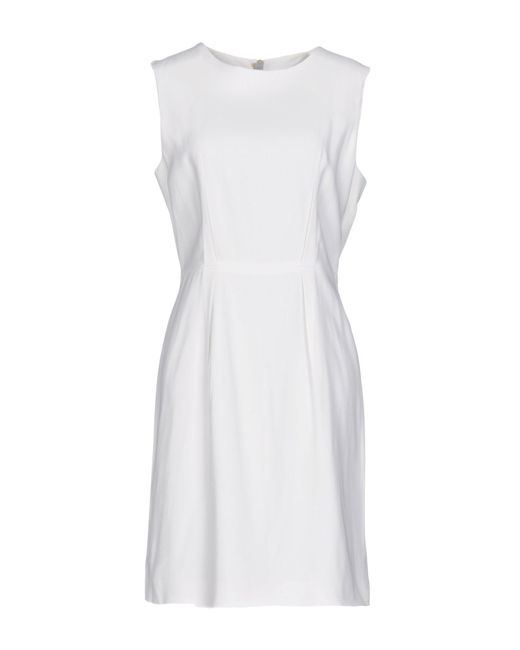 Acne - White Short Dress - Lyst