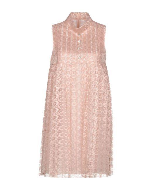 Philosophy Di Lorenzo Serafini - Pink Short Dresses - Lyst
