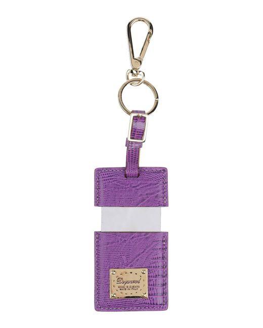 DSquared² - Purple Key Ring - Lyst