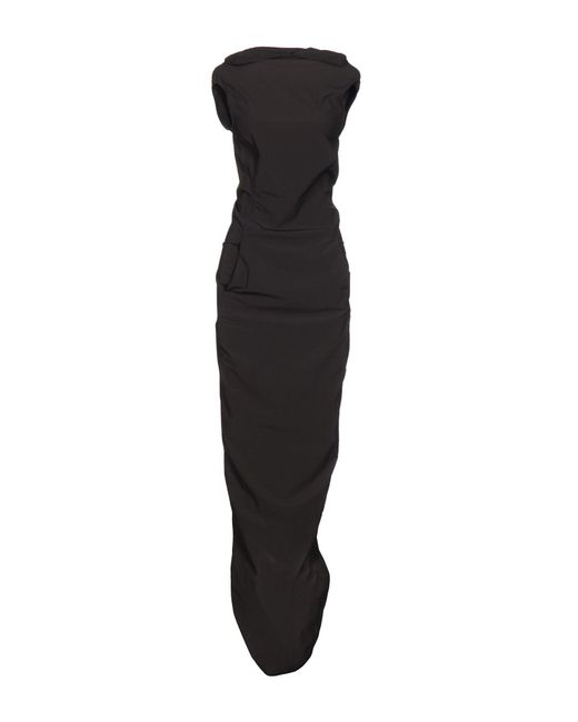 Rick Owens - Gray Long Dresses - Lyst