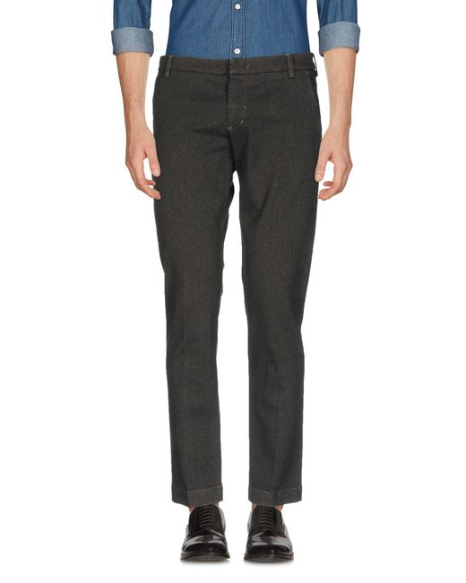 Entre Amis - Gray Casual Trouser for Men - Lyst