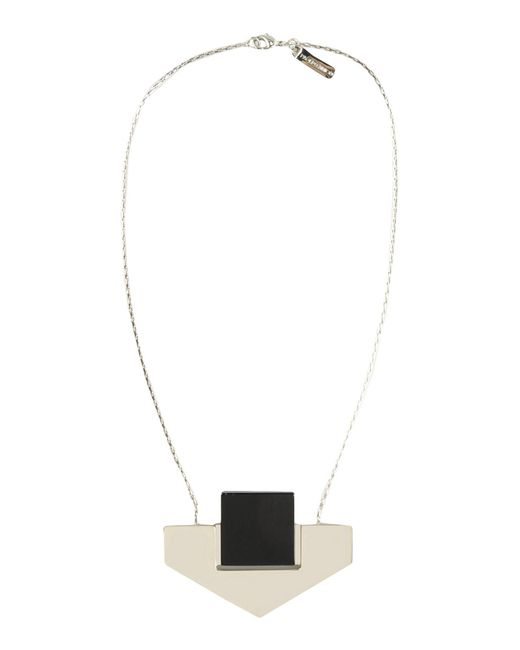 Paolo Errico - Black Necklace - Lyst
