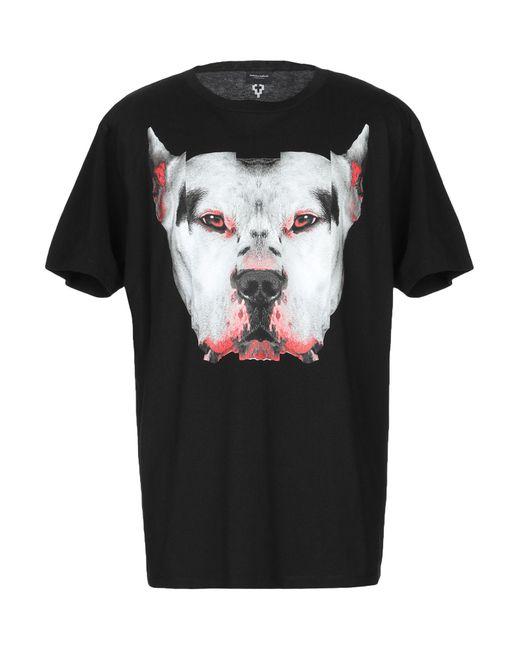 Marcelo Burlon - Black T-shirt for Men - Lyst