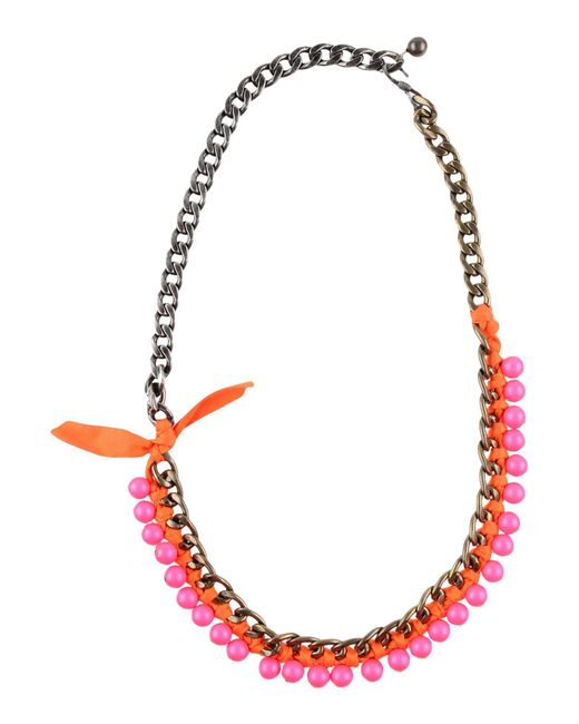 Lanvin - Multicolor Necklaces - Lyst
