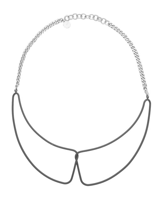 Marc By Marc Jacobs - Gray Necklaces - Lyst