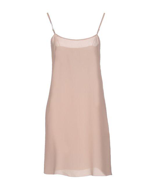 Schumacher - Natural Short Dress - Lyst
