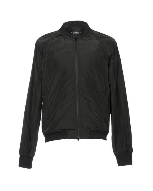 Hydrogen - Black Jacket for Men - Lyst