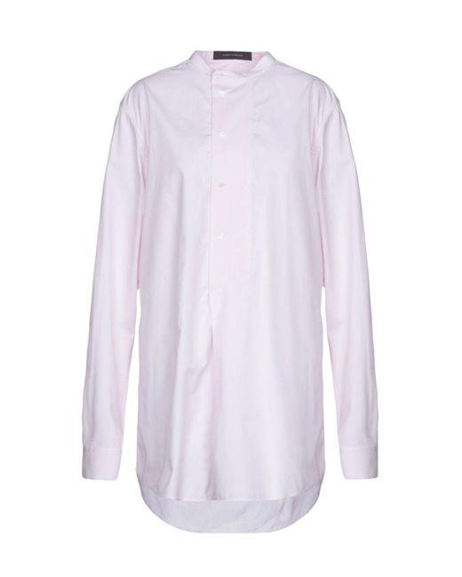 Cedric Charlier - Pink Short Dress - Lyst